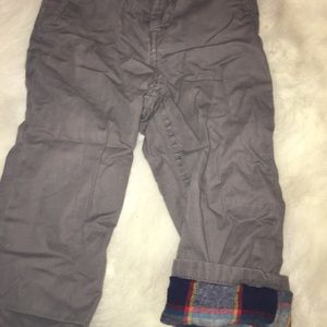 Other - Toddler boy lined pants